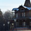 Усадьба Гудкова в Псарево, главный дом. крупный план
