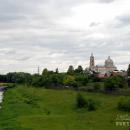 Гусь-Железный, панорама села с моста