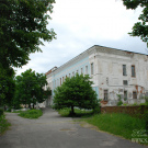 Усадьба Гусь-Железный, главный дом, вид от въездных ворот