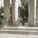 Усадьба Холомки. Главный дом, терасса 1-го этажа. Фото 1910-х гг.