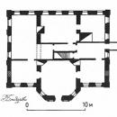 Усадьба Храборво, план главного дома