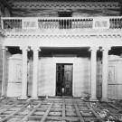 Усадьба Хворостьево, главный дом, интерьер парадного зала. Фото Н.Д. Бертрама