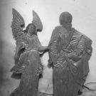 Погост Хворостьево, элементы декоративного убранства Гурьевского храма. Фото Н.Д. Бертрама