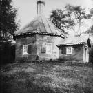 Погост Хворостьево, Гурьевская церковь 1764 г. Фото Н.Д. Бертрама