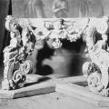 Усадьба Хворостьево, резной престол Троицкой церкви. Фото Н.Д. Бертрама
