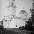 Усадьба Хворостьево, Троицкая церковь 1821 г. Фото Н.Д. Бертрама