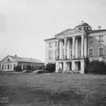 садьба Хворостьево, главный дом. Фото Н.Д. Бертрама