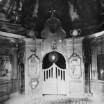 Погост Хворостьево, интерьер Гурьевской церкви. Фото Н.Д. Бертрама