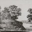 Вид беседки в Ильинском. Литография К.П. Беггрова, 1820-е гг. ГИМ
