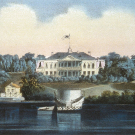 Вид дворца в Ильинском. По литографии 1867 г., ГИМ