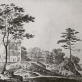 Вид обсерватории в усадьбе Ильинское. Литография К.П. Беггрова, 1820-е гг. ГИМ