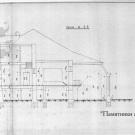 Усадьба Ивановское Тверская область, главный дом, разрез
