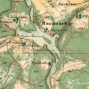 Усадьба Ивановское Тверская область, карта 1856 г.