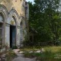 Усадьба Ивановское Тверская область, терраса главного дома
