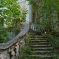Усадьба Ивановское Тверская область, парадная лестница главного дома