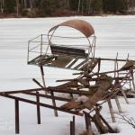 Усадьба Ивановское-Козловское, на берегу водохранилища, фото 2017 г.