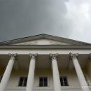 Усадьба Ивановское в Подольске, главный дом, портик со стороны парадного двора