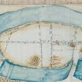 Усадьба Измайлово, архивный план