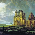 Вид села Измайлово. Бодри Карл-Фридрих Петрович, 1830