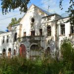 Усадьба Извара, Училищный дом