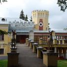 Усадьба Кирицы, дворец со стороны двора