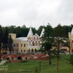 Усадьба Кирицы, общий вид с дороги