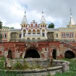 Усадьба Кирицы, дворец со стороны парка