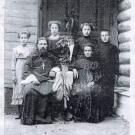 Священник с. Клементьево (Рузский уезд), Василий Алексеевич Сперанский с семейством (12 ноября 1911 г.)