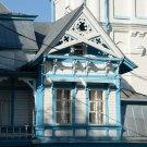 Усадьба Колчаново главный дом (фрагмент фасада)