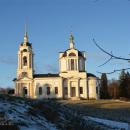 Знаменская церковь в Комлево после реставрации