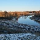 Долина реки Рузы в Комлево