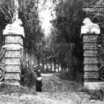 Усадьба Кораллово, львиные ворота