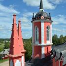 Церковь Спаса Преображения в усадьбе Красное