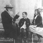 Усадьба Крекшино, Л.Н. Толсктой с детьми