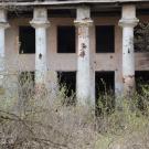Усадьба Курово-Покровское, портик главного дома