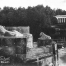 Усадьба Кузьминки, пристань со львами