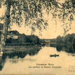 Усадьба Кузьминки, пруд в парке