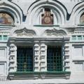 Усадьба Кузьминское, Знаменская церковь, фрагмент декора