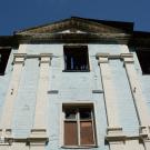 Усадьба Лапино, главный дом. Фрагмент фасада