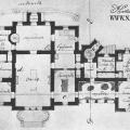 Усадьба Лисино-Корпус, охотничий дворец (план)