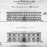 Усадьба Лисино-Корпус, Лисинское учебное лесничество (фасады и разрез)