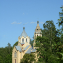 Усадьба Лисино-Корпус. Церковь Происхождения Честных Древ Животворящего Креста Господня