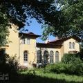 Усадьба Лисино-Корпус, охотничий домик (дворец). Фасад со стороны парка