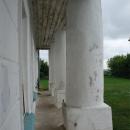 Усадьба Лунино, портик главного дома