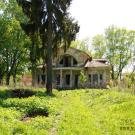 Усадьба Ляхово, главный дом со стороны парка
