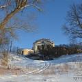 Усадьба Любаново, главный дом со стороны парка