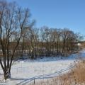 Усадьба Любаново, ландшафт со стороны реки
