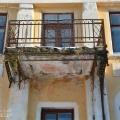 Усадьба Любаново, главный дом (балкон паркового фасада)