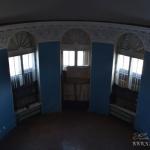 Усадьба Любвино дворец, парадный зал, вид со второго этажа