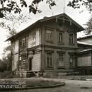 Усадьба Мальце-Бродово. Фото флигеля, 1980-е гг.